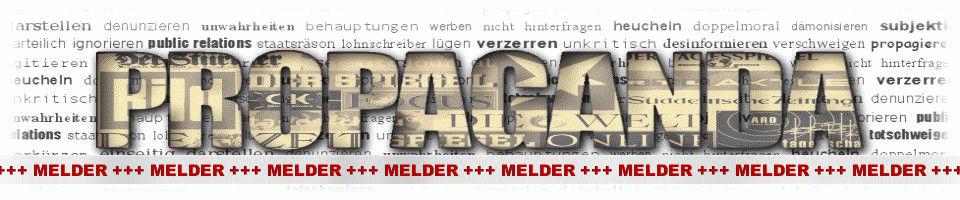 Propaganda-Melder